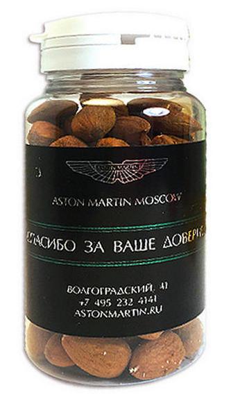 Монпансье, орехи, мармелад, драже в прозрачных банках с логотипом