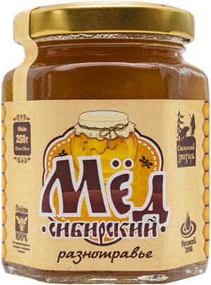 Мёд сибирский разнотравье
