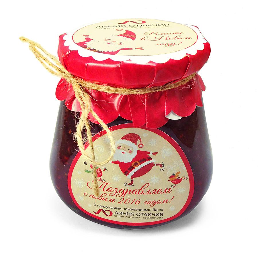 Протертая с сахаром ягода