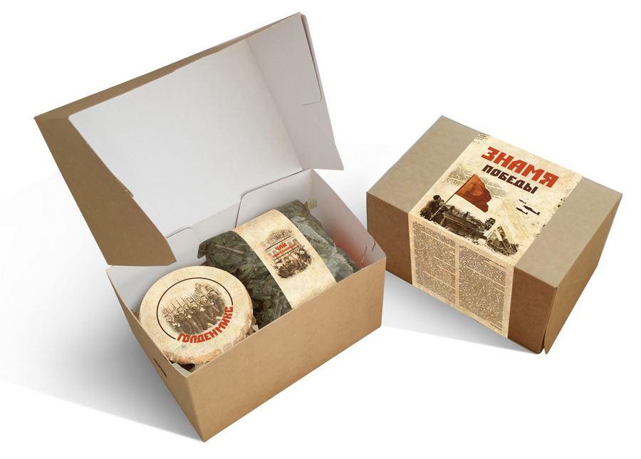 Сибирские подарочные наборы на 9 Мая