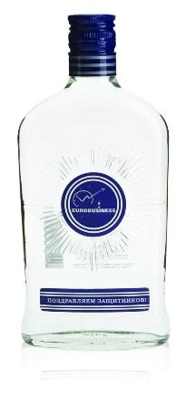 Сувенирная водка с логотипом